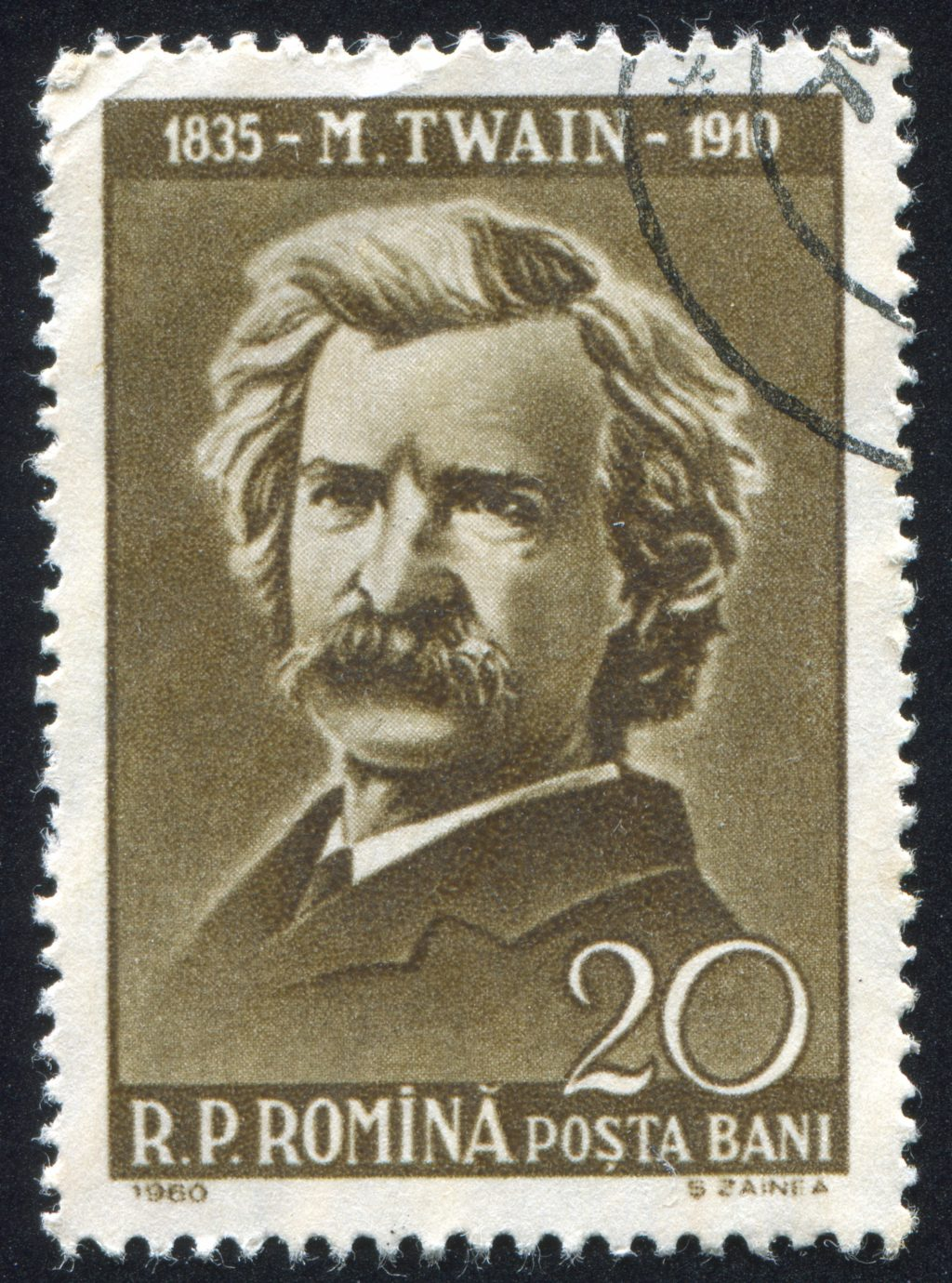 Dan Soschin - Mark Twain Stamp