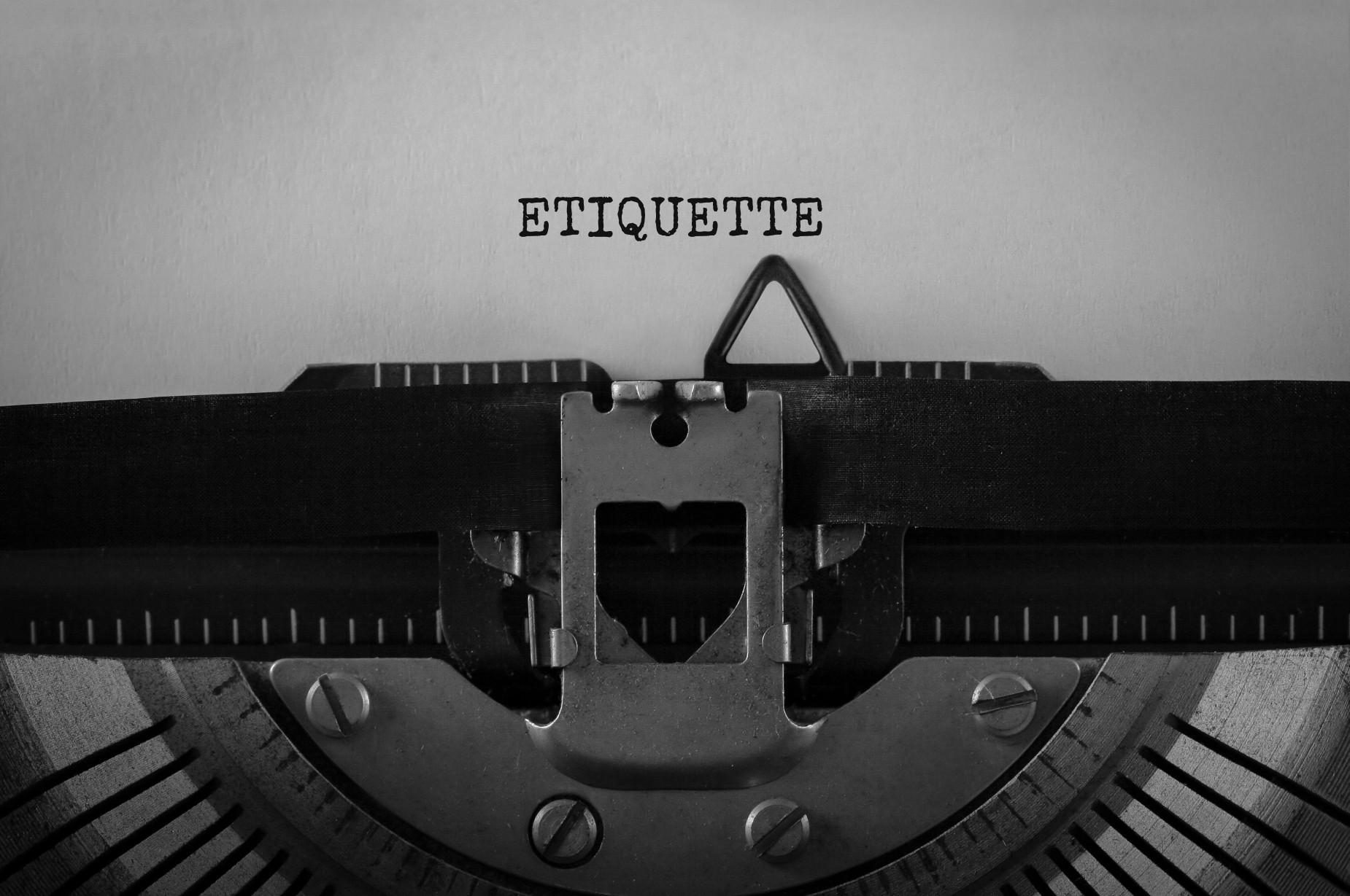 Dan Soschin - Email Etiquette